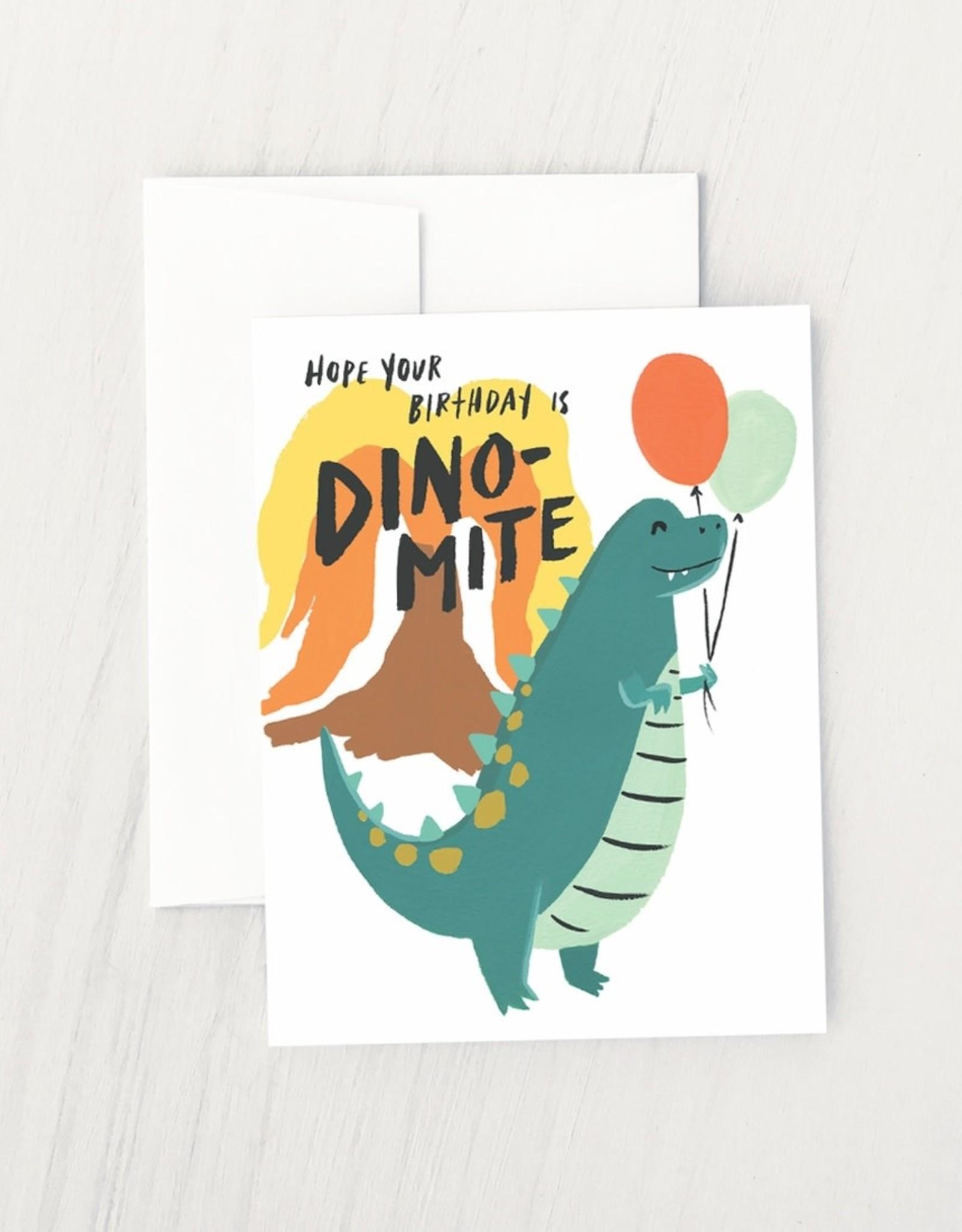 Idlewild Co. Idlewild Co.   Dino Mite Card