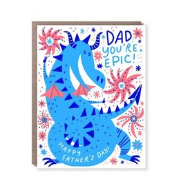 Hello! Lucky Hello! Lucky   Dragon Dad Card
