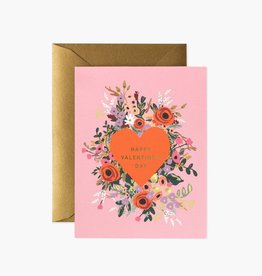 Rifle Paper Co. Rifle Paper  Blooming Heart Valentine Card