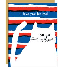 Egg Press Egg Press   Love You Fur Real Card