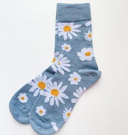Stay Forever Stay Forever | Blue Daisy Socks