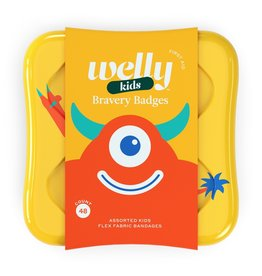 Welly Welly   Bravery Badges - Monsters