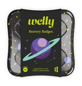 Welly Welly   Bravery Badges - Space