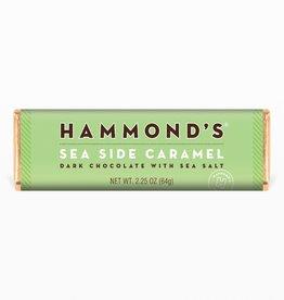 Hammond's Candies Natural Sea Side Caramel Milk Chocolate Candy Bar