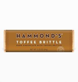 Hammond's Candies Hammond's | Natural Toffee Brittle Dark Chocolate Candy Bar