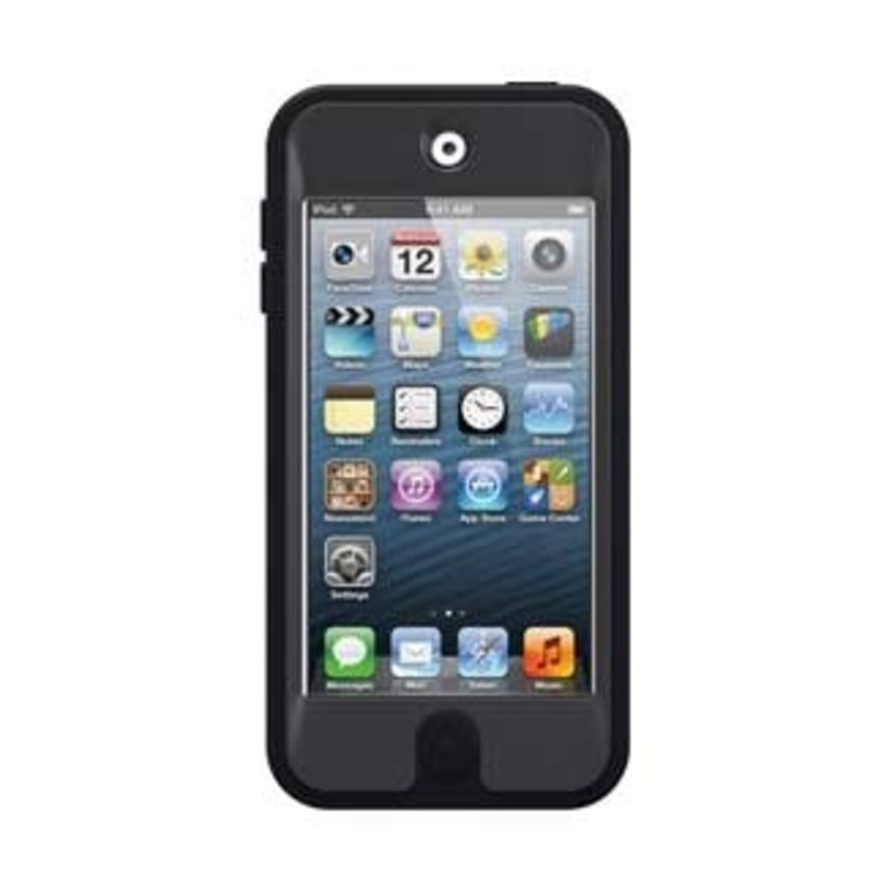 iPod Touch 5th/6th Gen Defender Case - Black