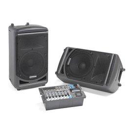 Samson XP1000B - Portable Pa Sys, 2X 500W, Bluetooth,10-Ch Mixer