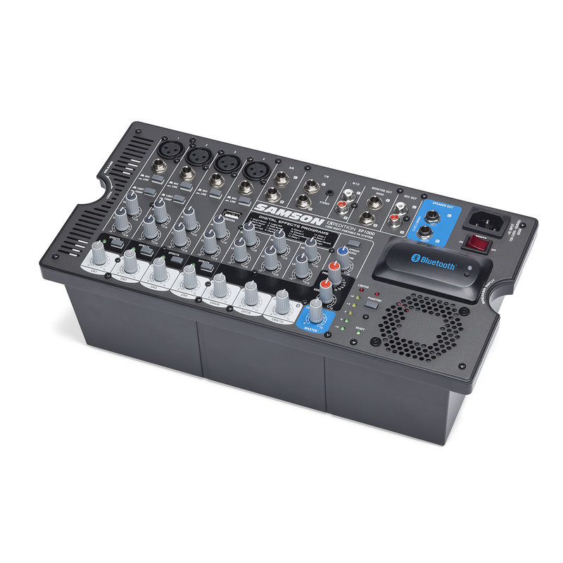 Portable Pa Sys, 2X 500W, Bluetooth,10-Ch Mixer