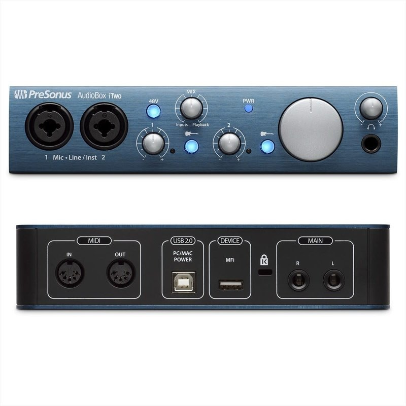 2Ch USB Audio Interface - Mac/ Pc /iOs