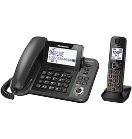 Panasonic KXTGF380M - Link2Cell Corded / Cordless Phone