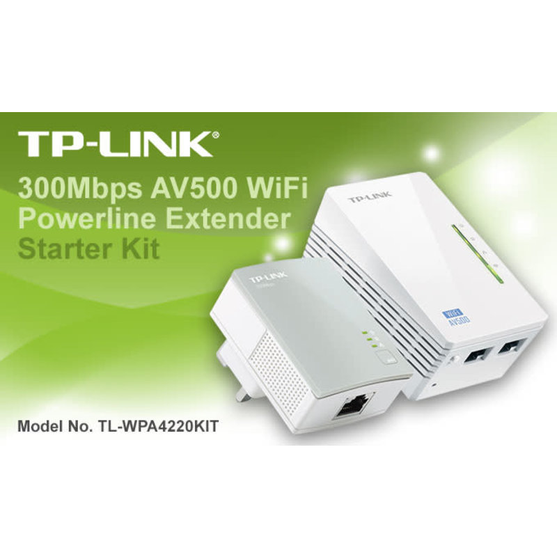300Mbps Network Extender PowerLine Kit