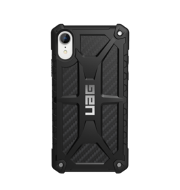 UAG - Monarch Rugged Case Carbon Fiber (Black) for iPhone XR