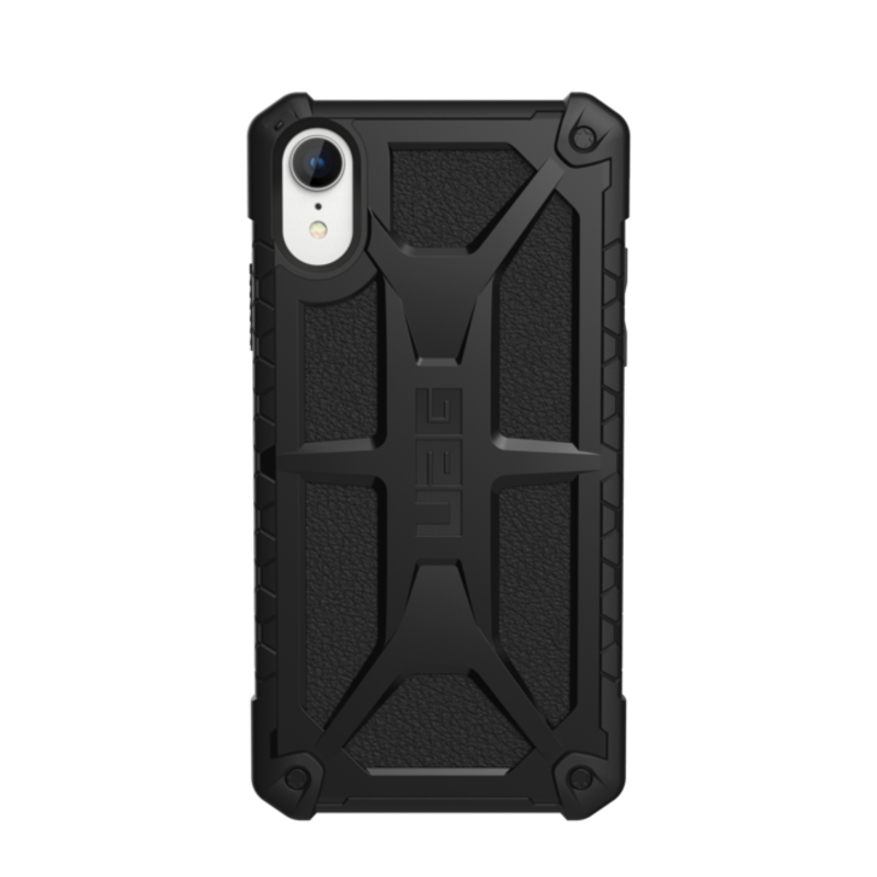 - Monarch Rugged Case Black (Matte) for iPhone XR