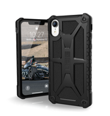 UAG - Monarch Rugged Case Black (Matte) for iPhone XR