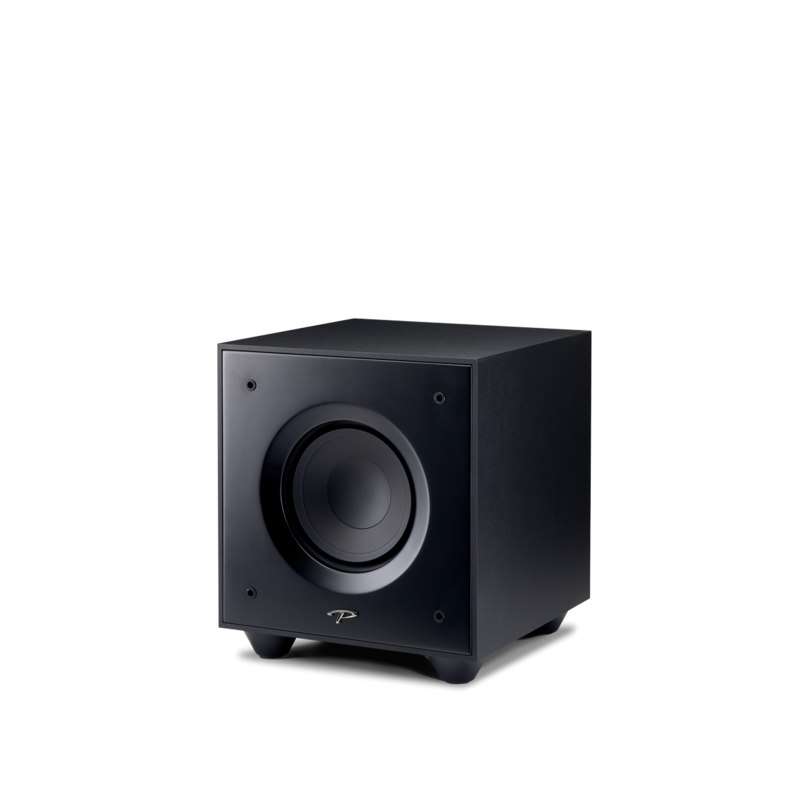 Defiance V Series 8-in Subwoofer – Satin Black