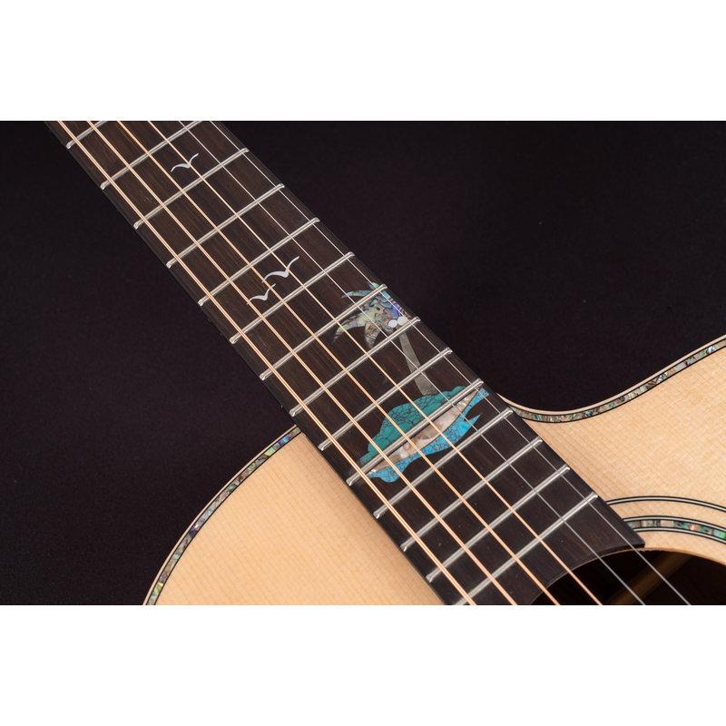 Bella Tono Studio 56 Elec/Acoustic Guitar Solid Spruce/Acacia
