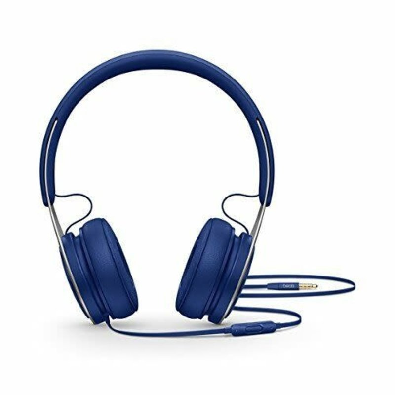 Beats EP On- Ear Sound Isolating Headphones with Mic - Blue