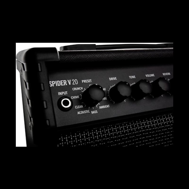 SPIDER-V-MKII 20 watt 1x8 In. Combo Amp W/Tuner