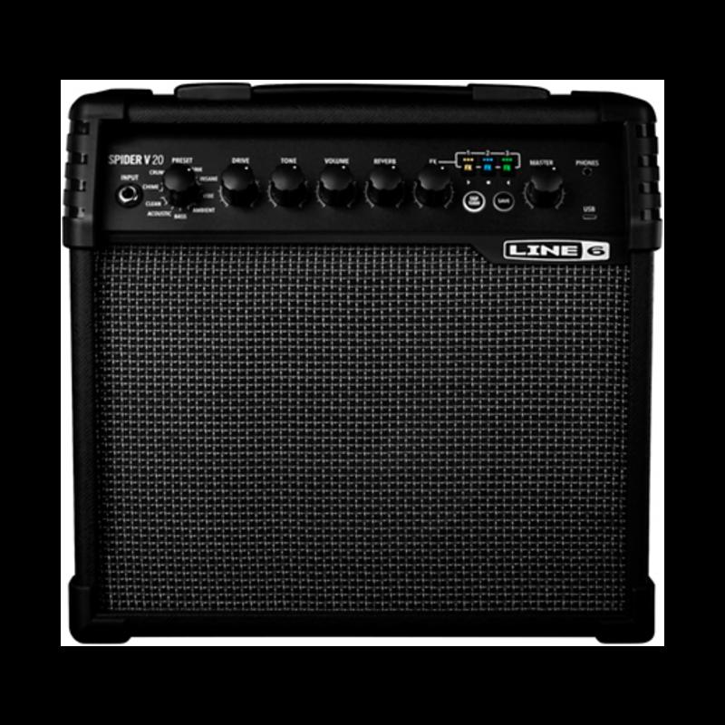 ~20 watt 1x8 In. Combo Amp W/Tuner