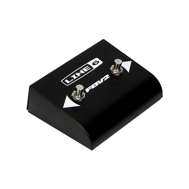 2-Button Scroll Footswitch For Line 6 Amps & Pods
