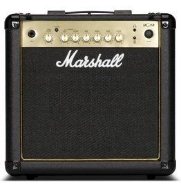 Marshall MG15GR - 15w 2-Channel Solid-State Combo Amplifier with Reverb & MP3 Input