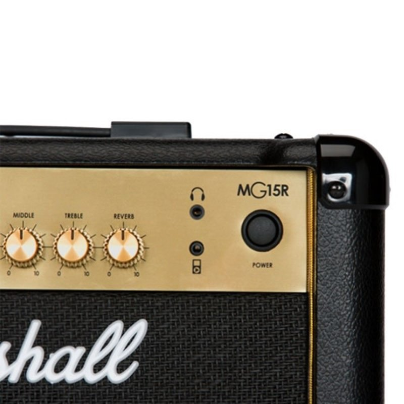MG 15w 2-Channel Solid-State Combo Amplifier with Reverb & MP3 Input