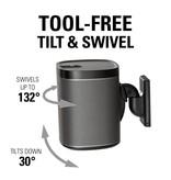 Sanus Tilt and Swivel Wall Mount for wireless speakers (ea.)