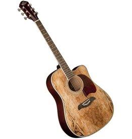 Oscar Schmidt OG2CESM - Elec / Acoustic - Spalted Maple