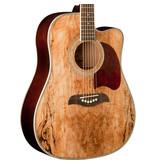 Oscar Schmidt Elec / Acoustic - Spalted Maple
