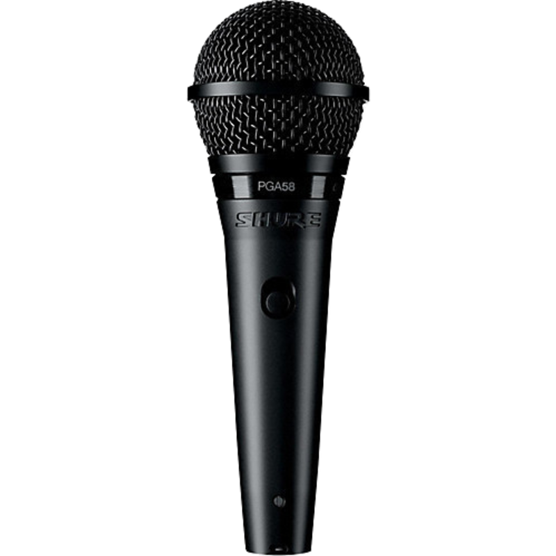Switched Cardioid Dynamic Microphone With Xlr Cable