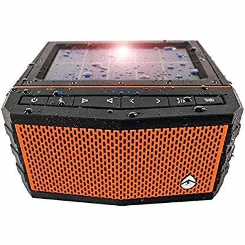 EXSJ400 Waterproof Solar Powered Shock Resis. Bluetooth Speaker