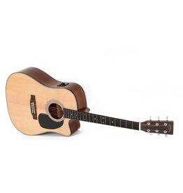 Sigma Guitars DMC-1STE+ - Sigma Solid Sitka Spruce Elec/ Acoustic Guitar w/ Fishman