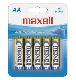 Maxell 723410 - AA 10 Pack