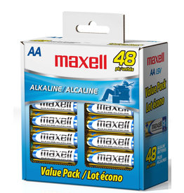 Maxell 723443 - AA 48 Pack