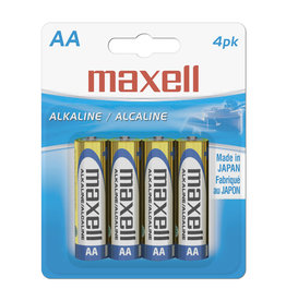 Maxell 723465 - AA 4 Pack