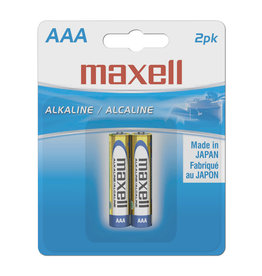 Maxell Maxel AAA 2Pk