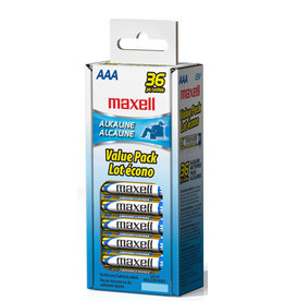 Maxell 723815 - AAA 36 Pack