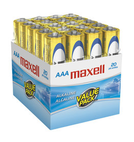 Maxell 723849 - AAA 20 Pack