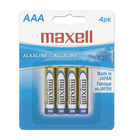 Maxell 723865 - AAA 4 Pack
