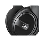 Sennheiser Closed around ear headphones with detachable cable.