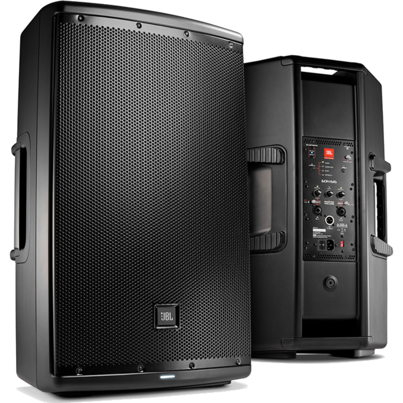15'' Powered Speaker w/ Bluetooth