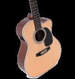 Sigma Guitars Sigma Jumbo Solid Sitka Spruce Elec/ Acoustic w/ Fishman