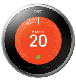 Google NEST 3rd Generation Wi-Fi Smart Learning Thermostat  - Brass