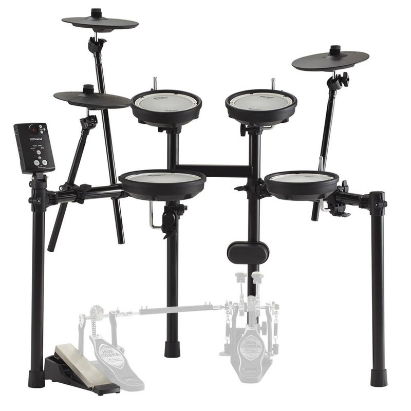 Double-Mesh Head Electronic V-Drum Kit