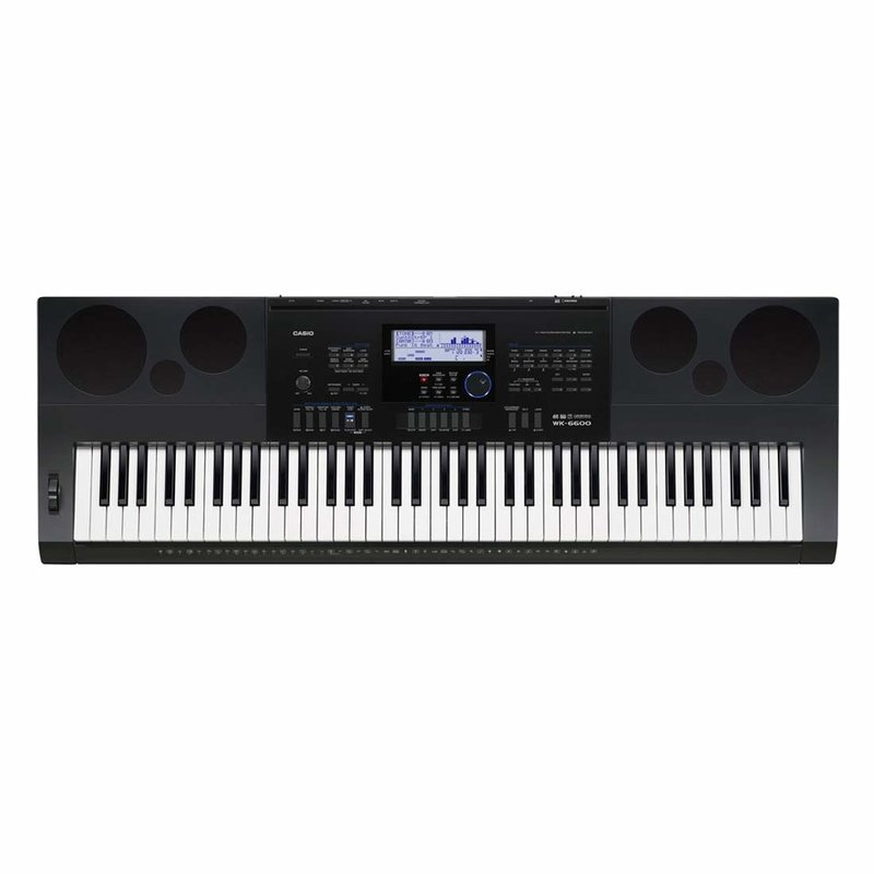 76-note (piano-style) touch response electric keyboard
