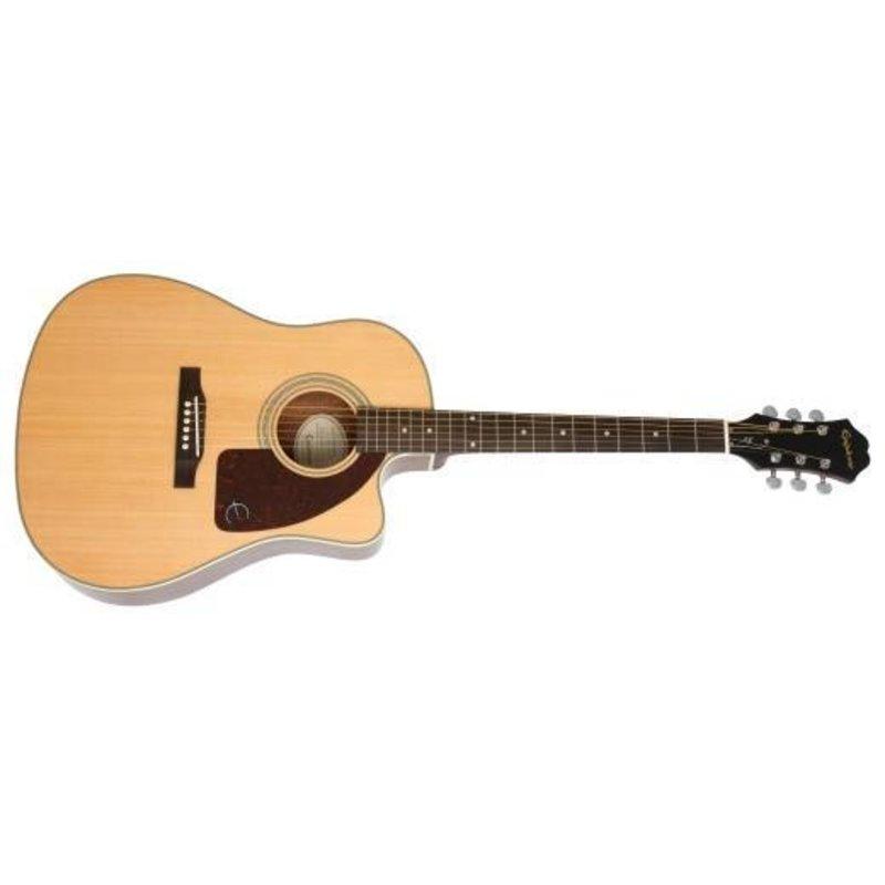 Ltd Elec/Acoustic Guitar w/Hardcase - AJ210CE Sunburst