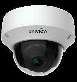Uniview Vandal Resistant IP Network Dome Camera, PoE, IR, 2MP 1080P, 2.8-12mm