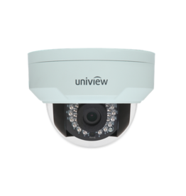 Uniview Vandal Resistant IP Network Dome Camera, PoE, IR, 4MP, 2.8