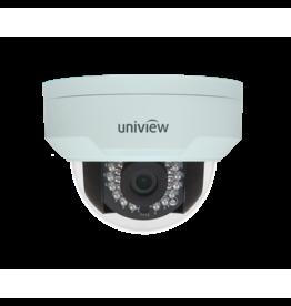 Uniview Vandal Resistant IP Network Dome Camera, PoE, IR, 4MP, 2.8