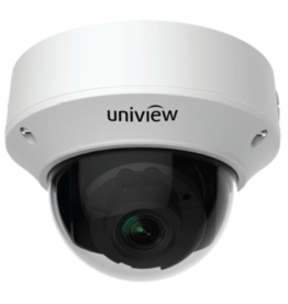 Uniview Vandal Resistant IP Network Dome Camera, PoE, IR, 5MP 2190P, 2.7-13.5mm